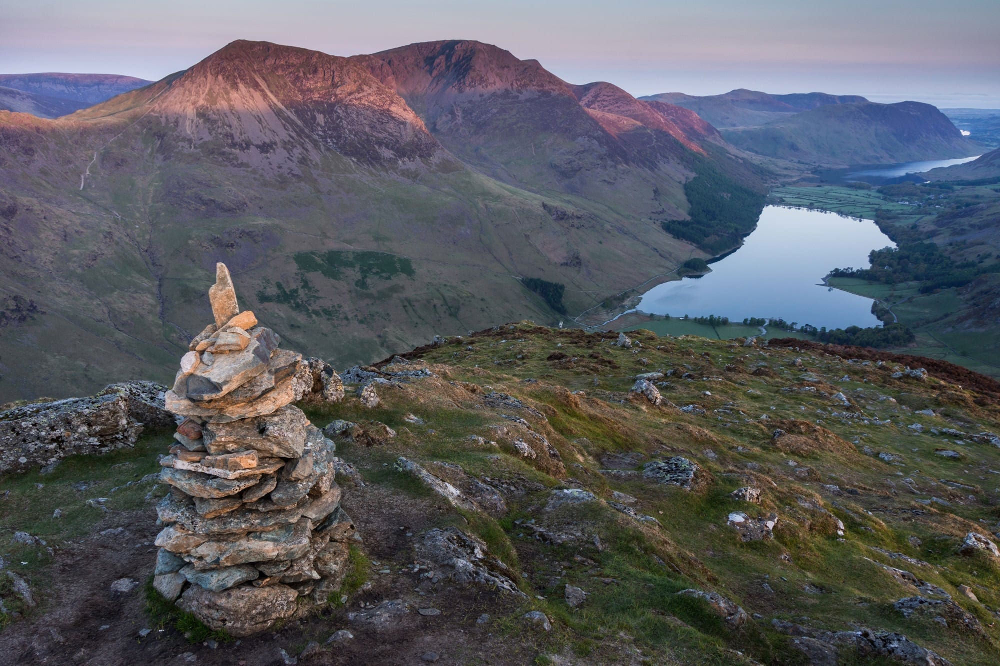 Fleetwith Pike Sunrise Lake District Wild Camping Photography Workshop