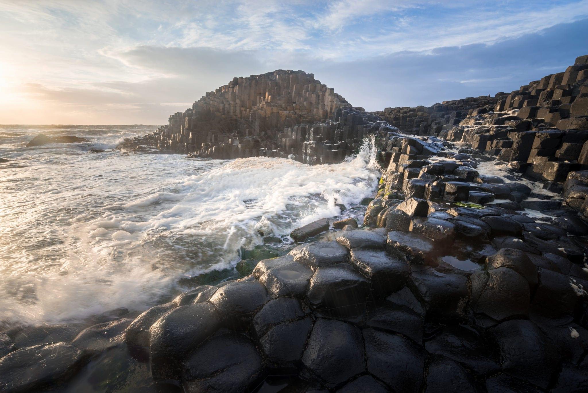 Giants Causeway Sunset - Ireland Photography