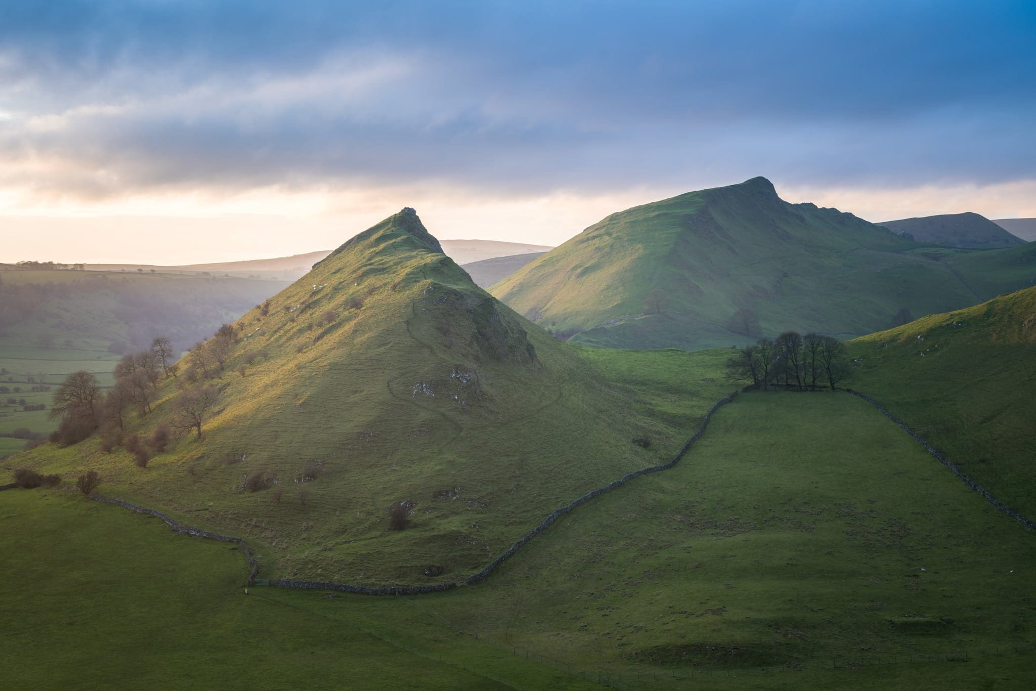 Hitter Hill Sunset - Peak District Photography