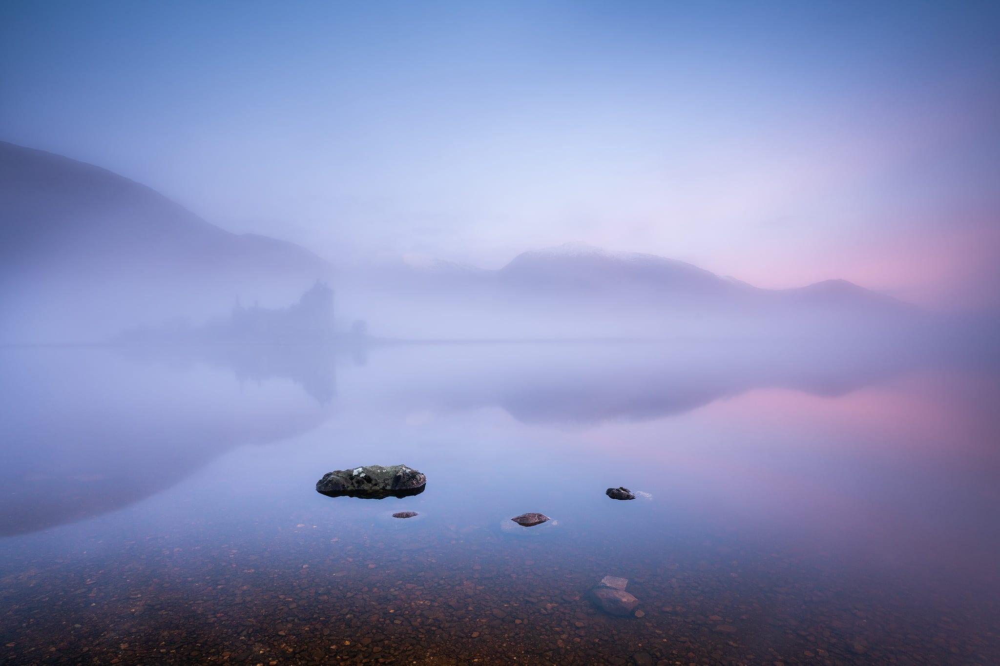 Kilchurn Castle Dawn - Scotland Landscape Photography