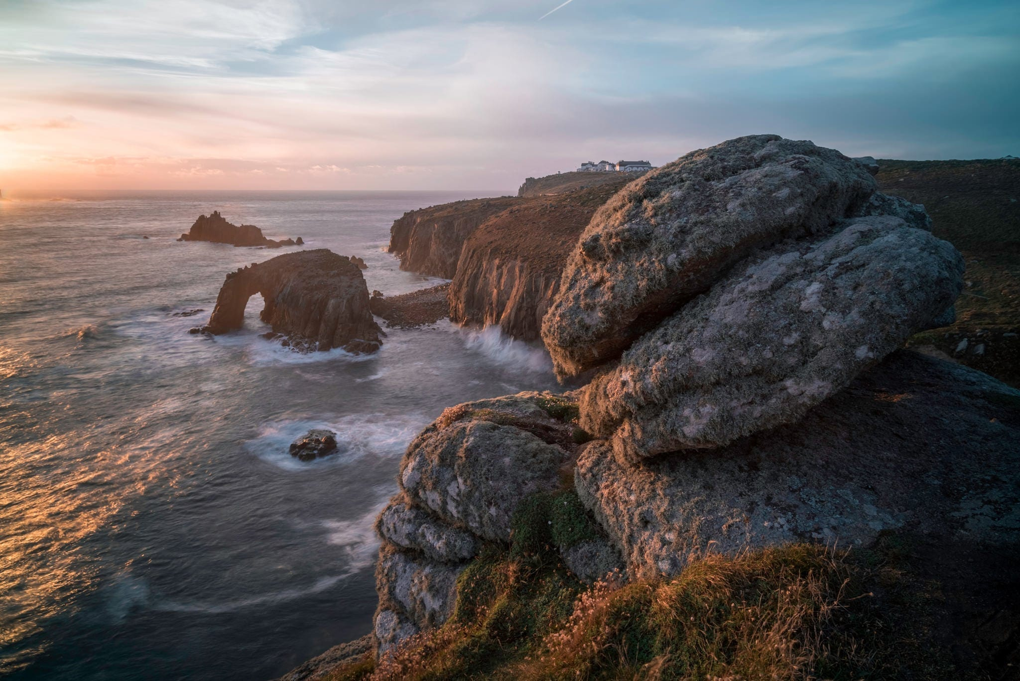Lands End Sunset - Cornwall Photography
