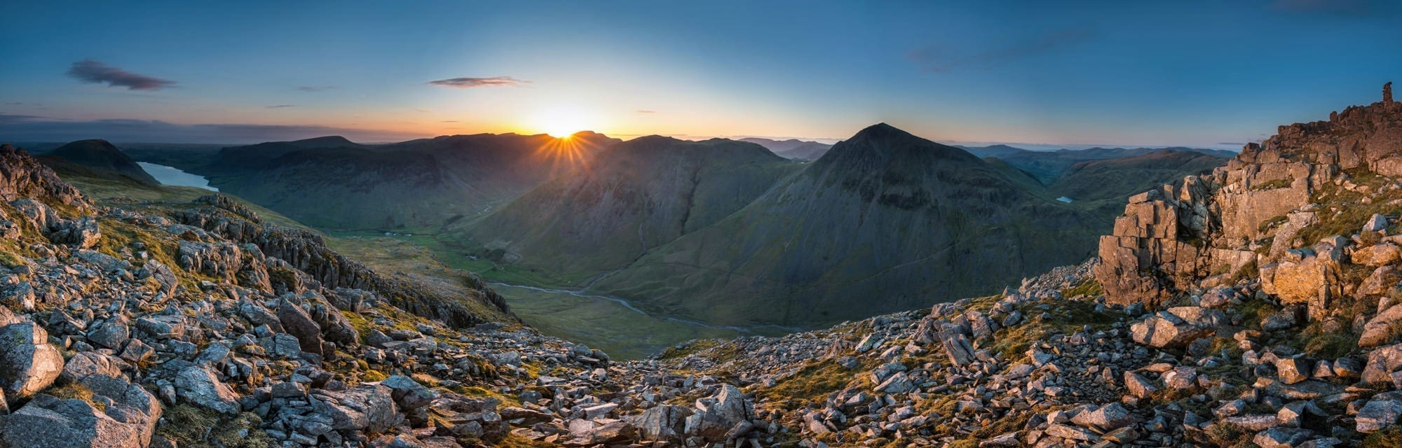 Lingmell Sunset Lake District Wild Camping Photography Workshop