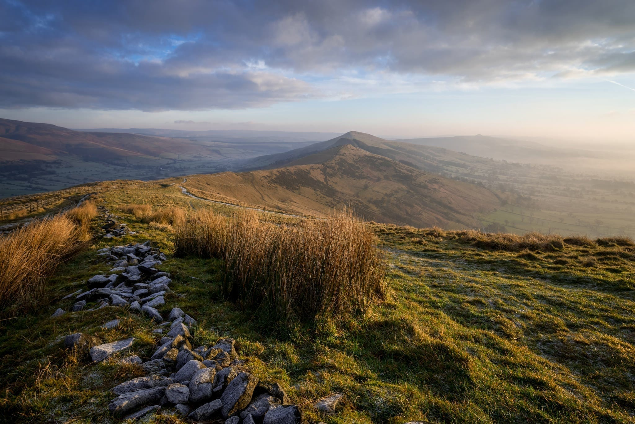Mam Tor Sunrise - Peak District Photography Workshop