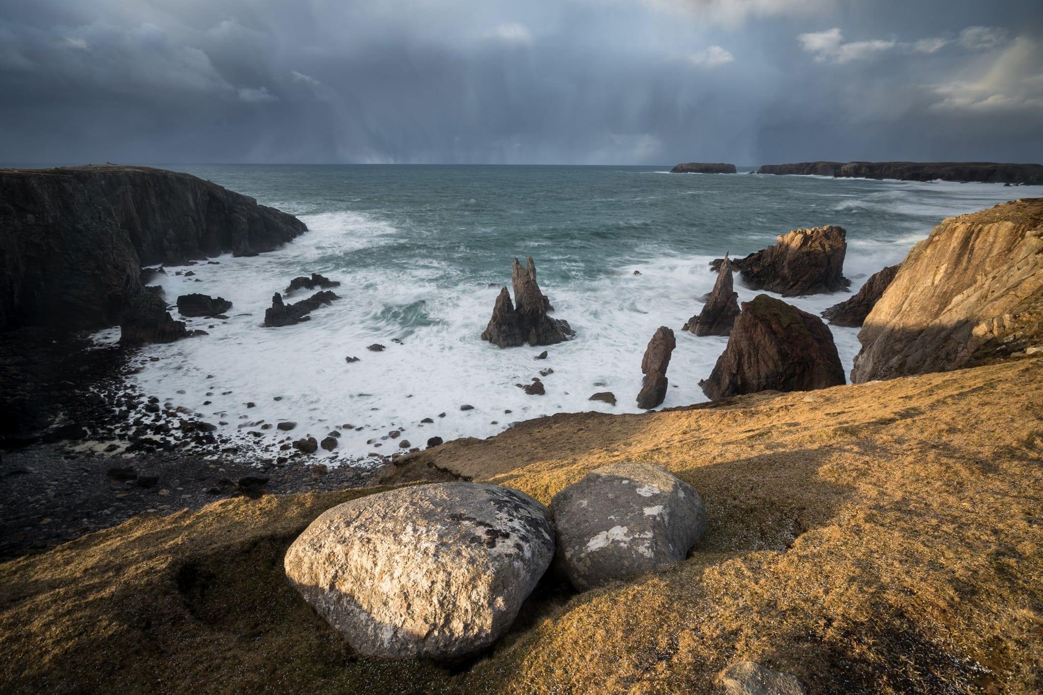 Mangersta Sea Stacks Sunset - Scotland Landscape Photography