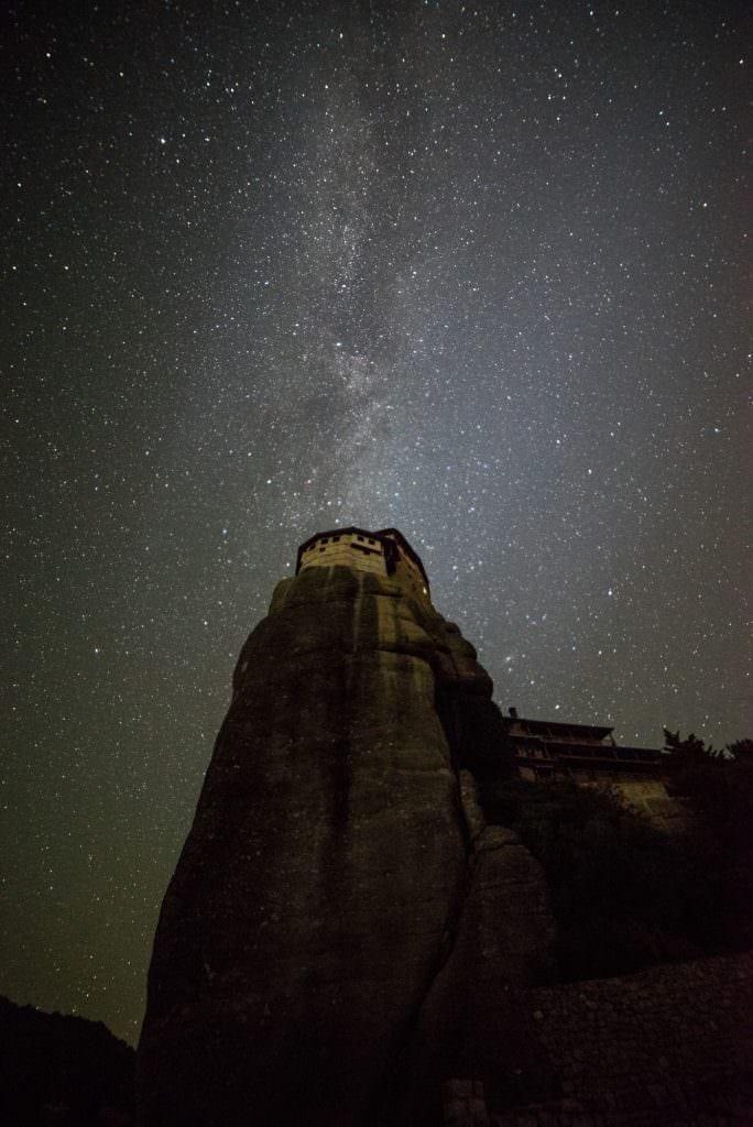 Meteora Astrophotography Milky Way - Meteora Workshop
