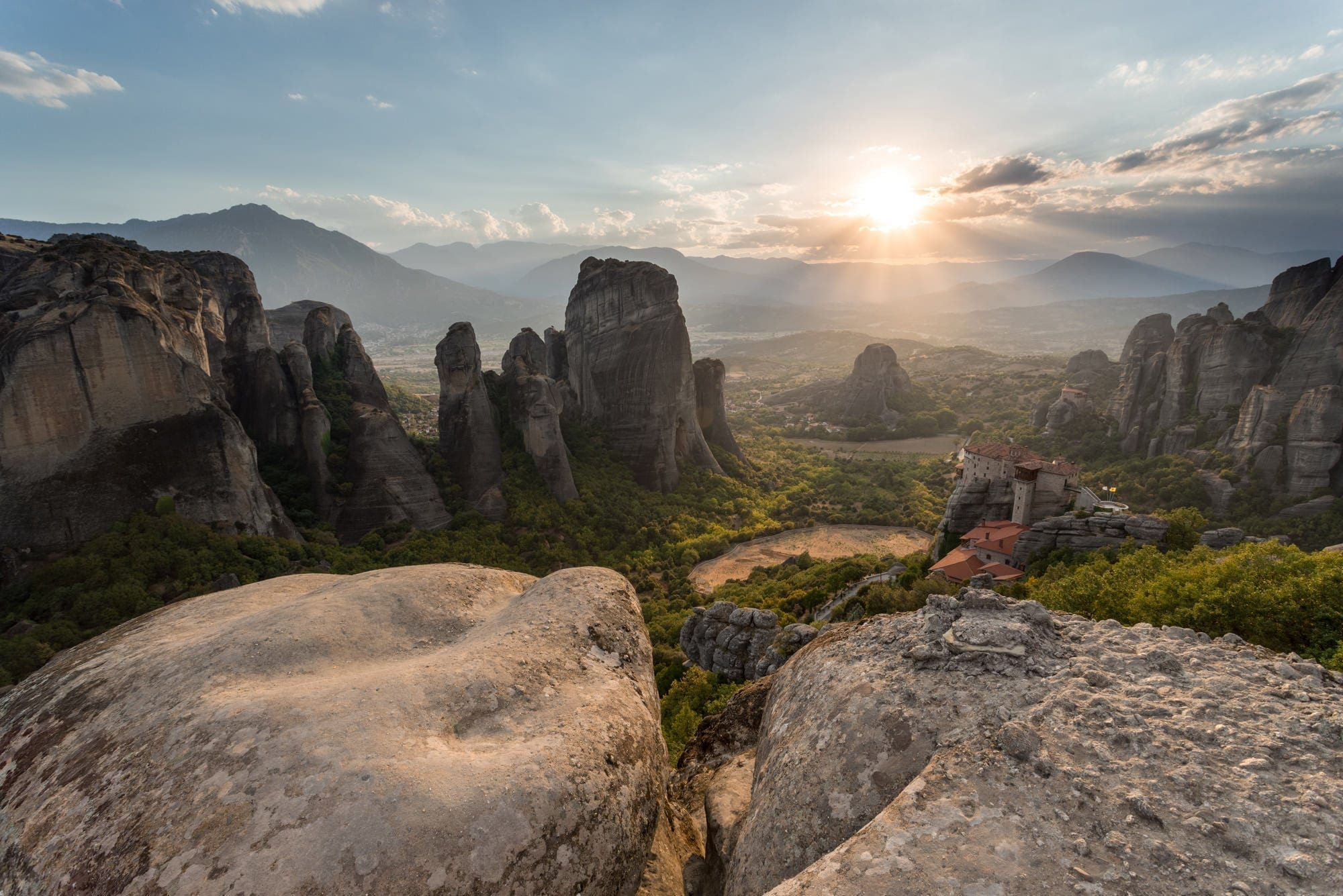 Meteora Sunset - Greece Photography