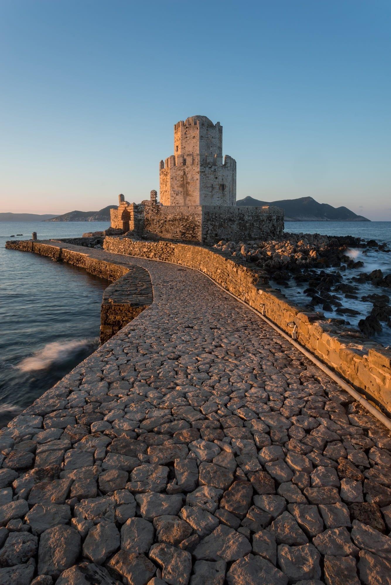 Methoni Bourtzi Sunrise - Greece Photography