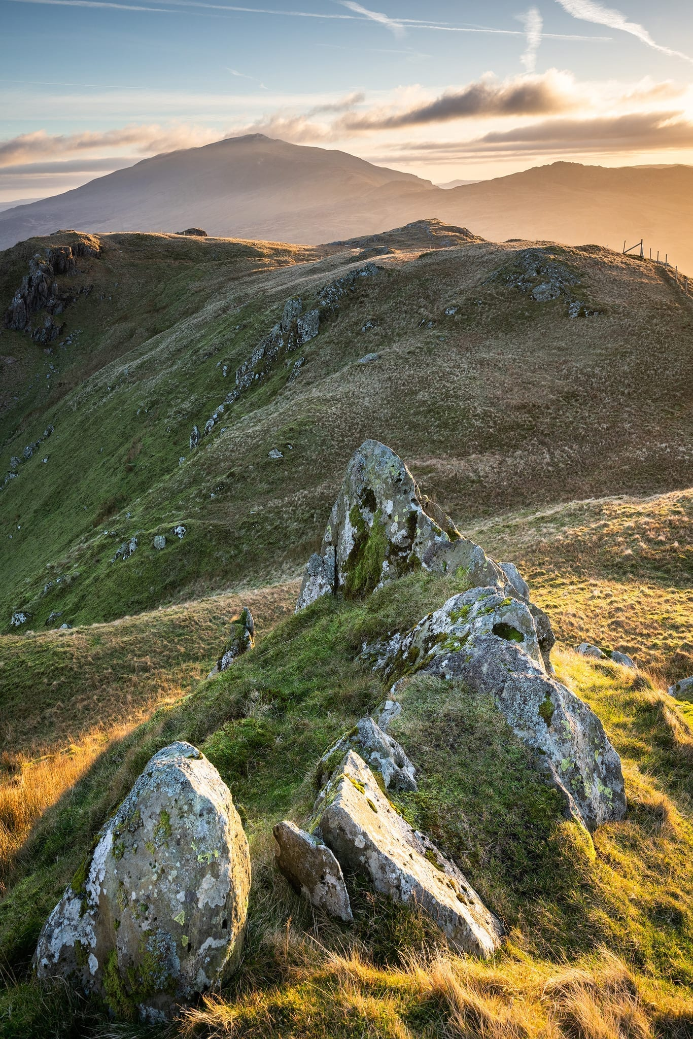Moel Siabod from the Horns of Snowdon - Snowdonia Landscape Photography