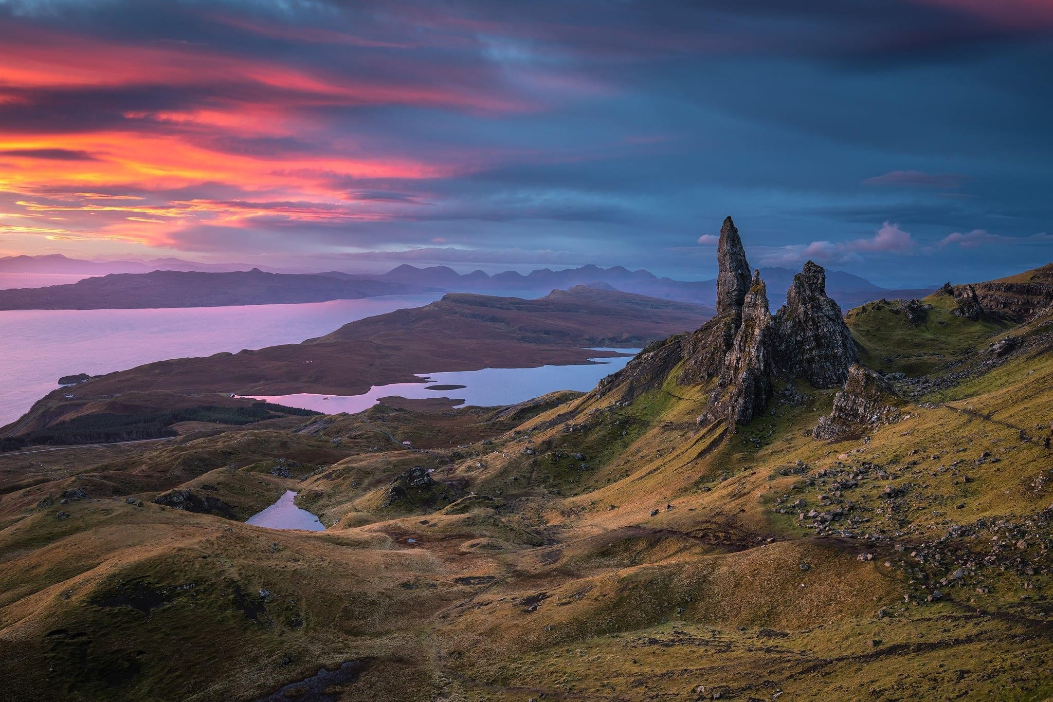 Old Man of Storr Sunrise - Isle of Skye Photography
