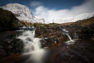 Russel Burn by Moonlight - Scotland Landscape Photography