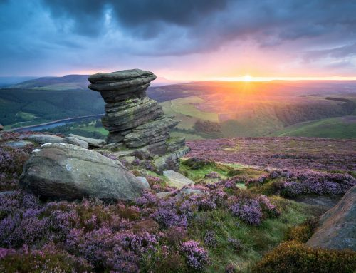 An Incredible Sunset on Derwent Edge on the Salt Cellar