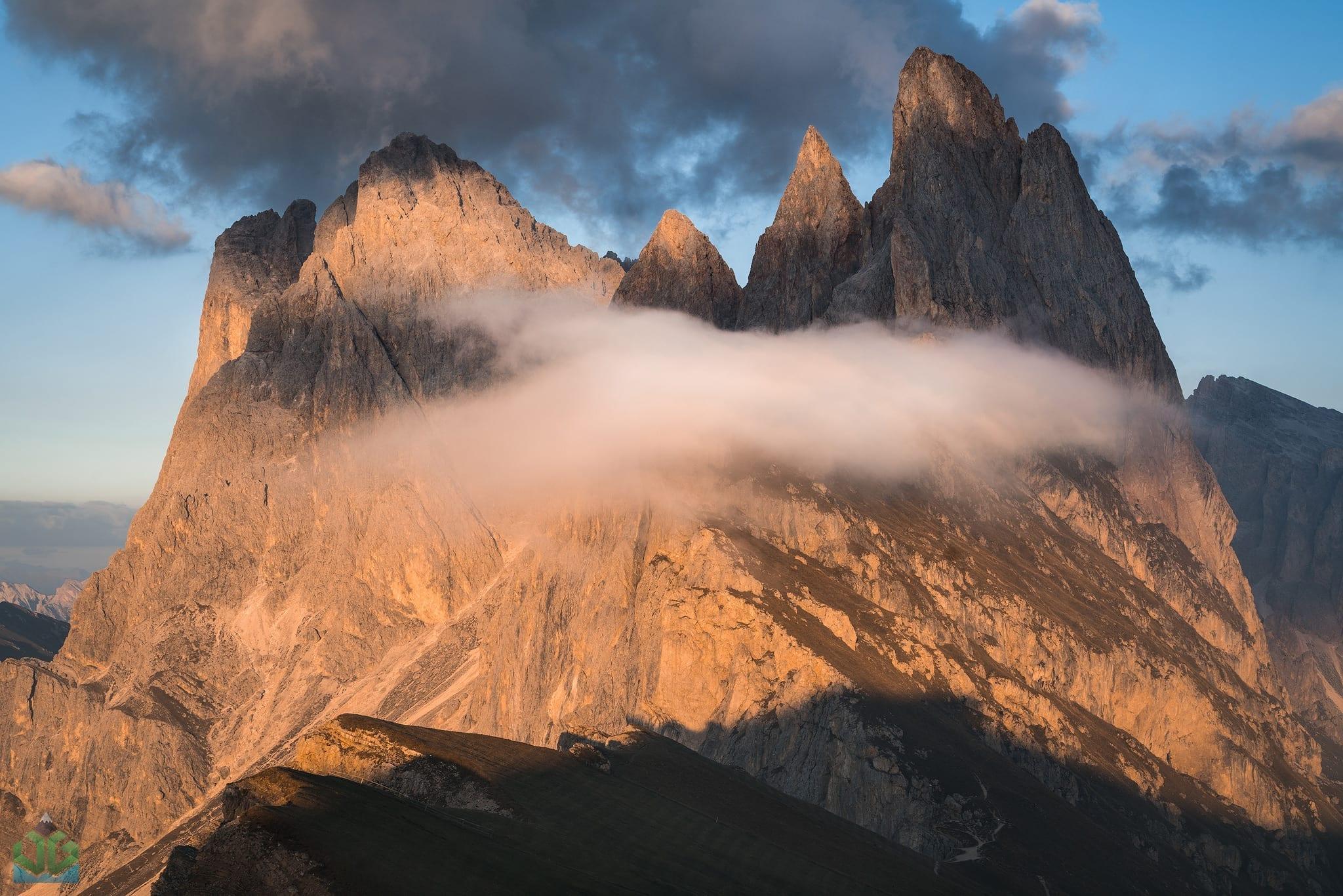 Seceda Sunset - Italian Dolomites Landscape Photography