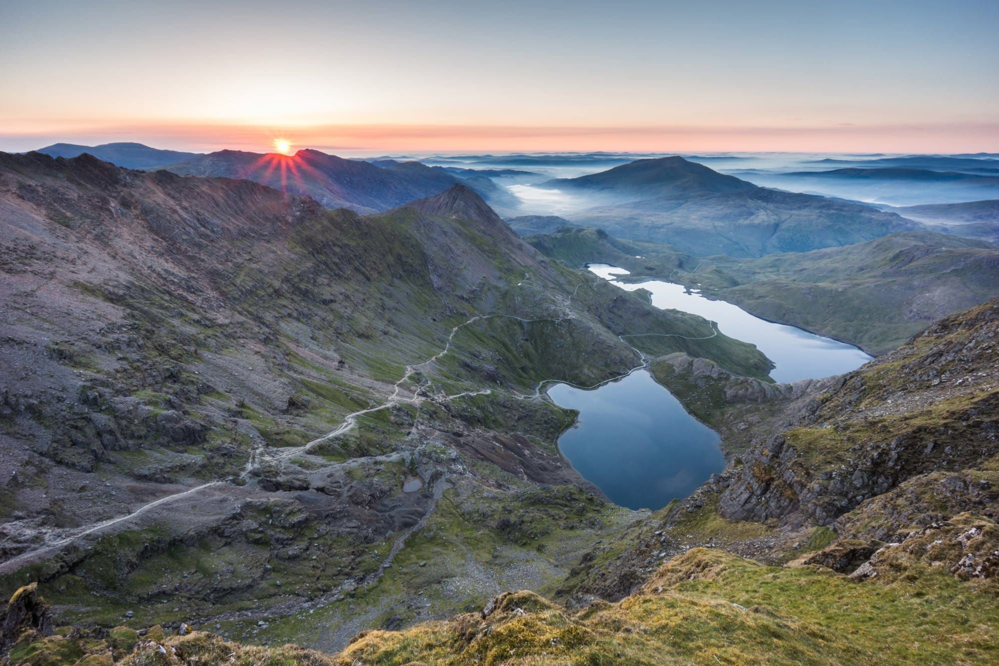 Snowdon Sunrise - Snowdonia Photography