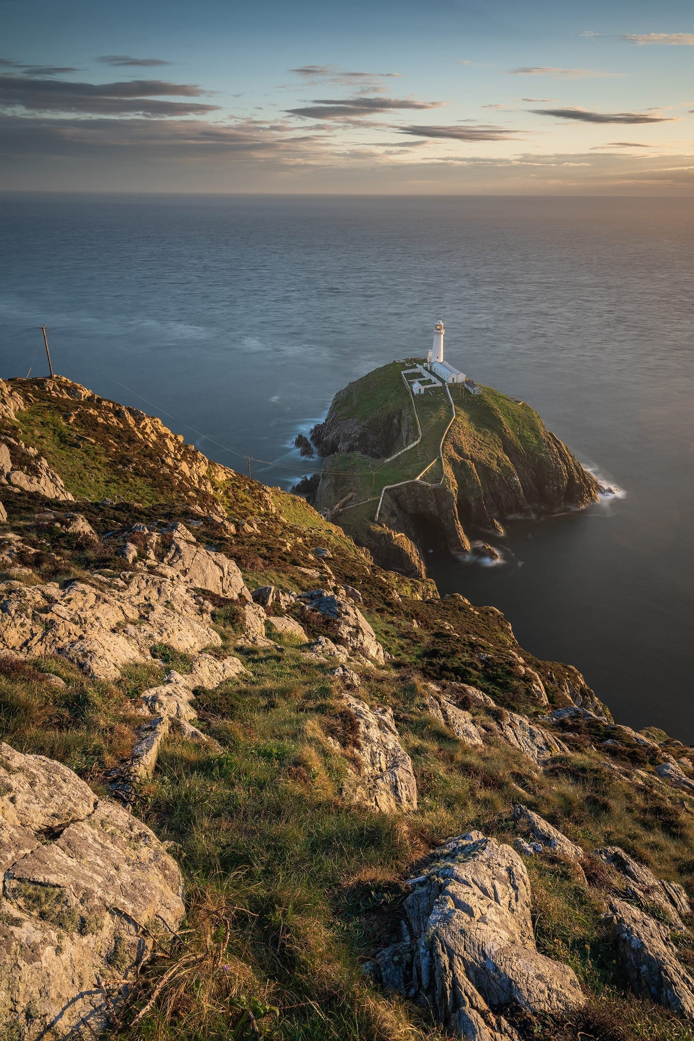 South Stack Lighthouse Sunset – Wales Photography