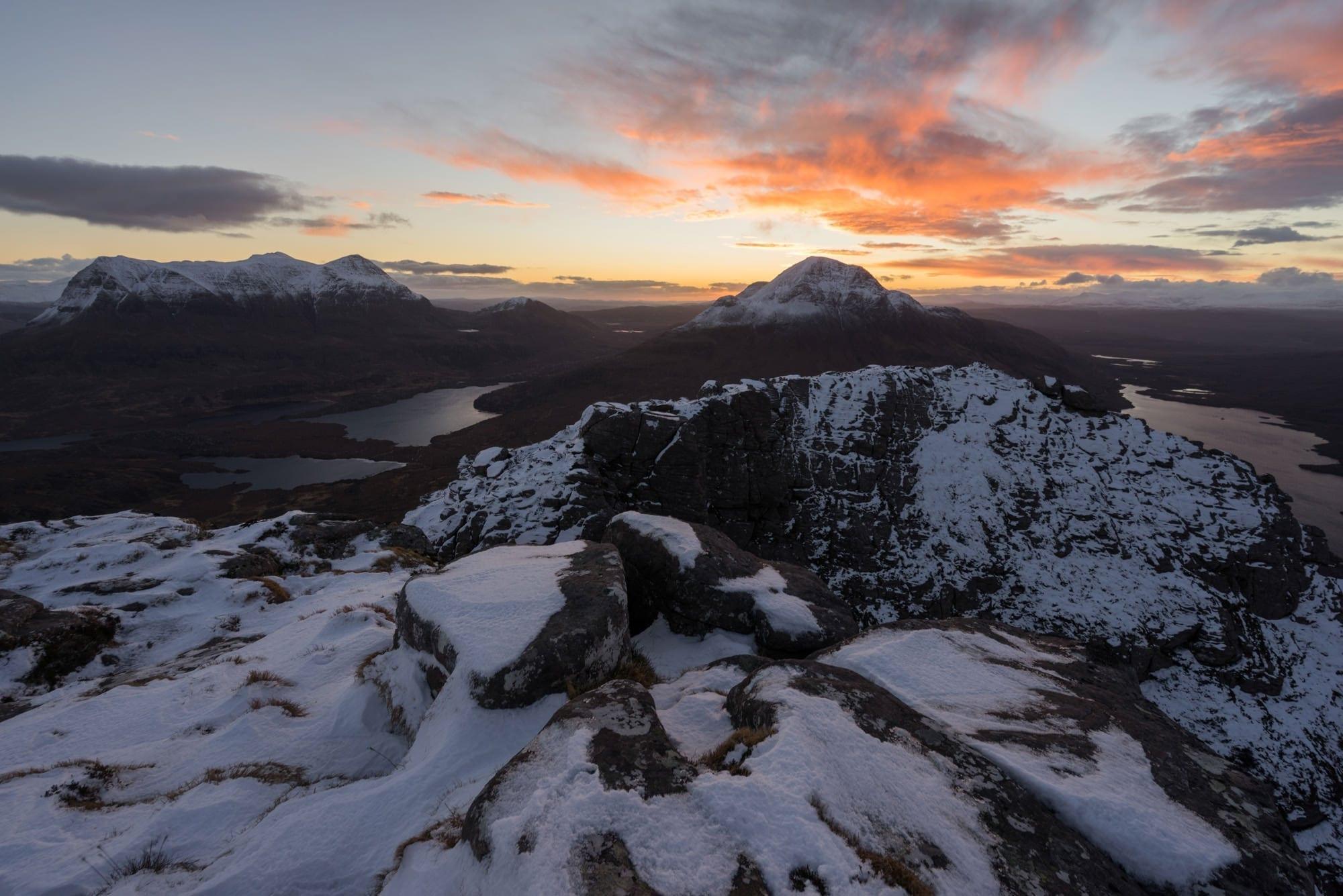Stac Polliadh Sunrise - Scotland Wild Camping Photography Workshop