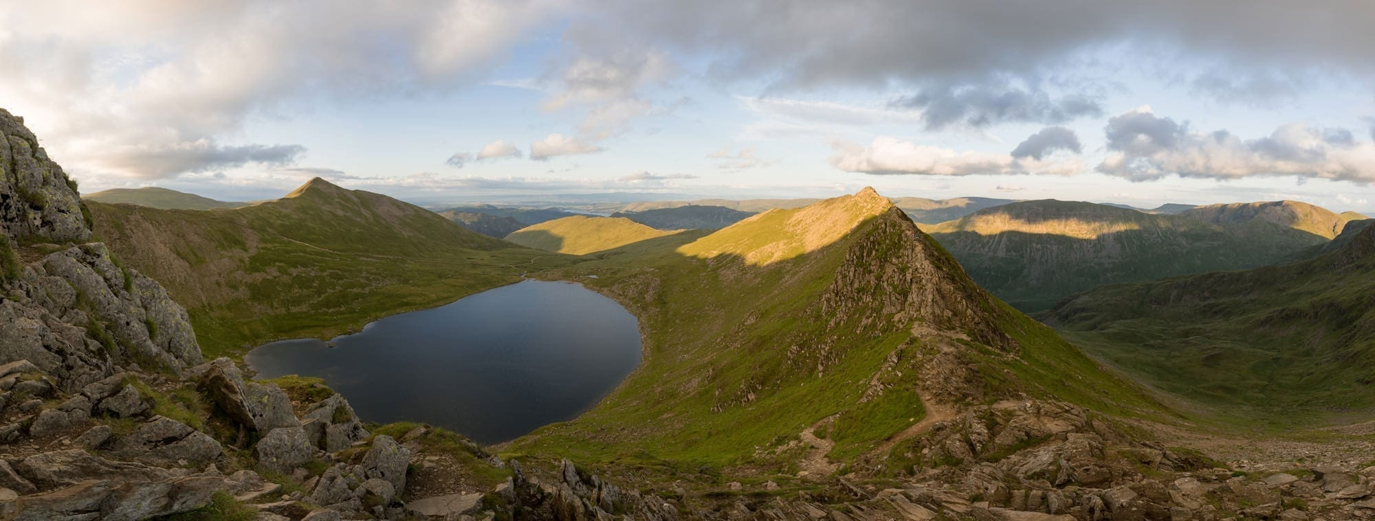Striding Edge from Helvellyn Lake District Wild Camping Photography Workshop