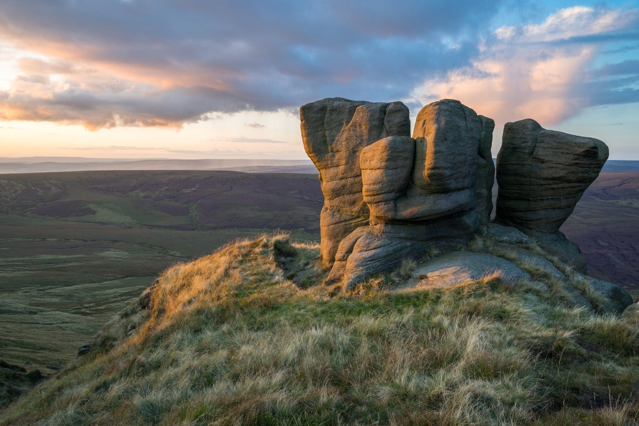 The Boxing Gloves - Peak District Photography