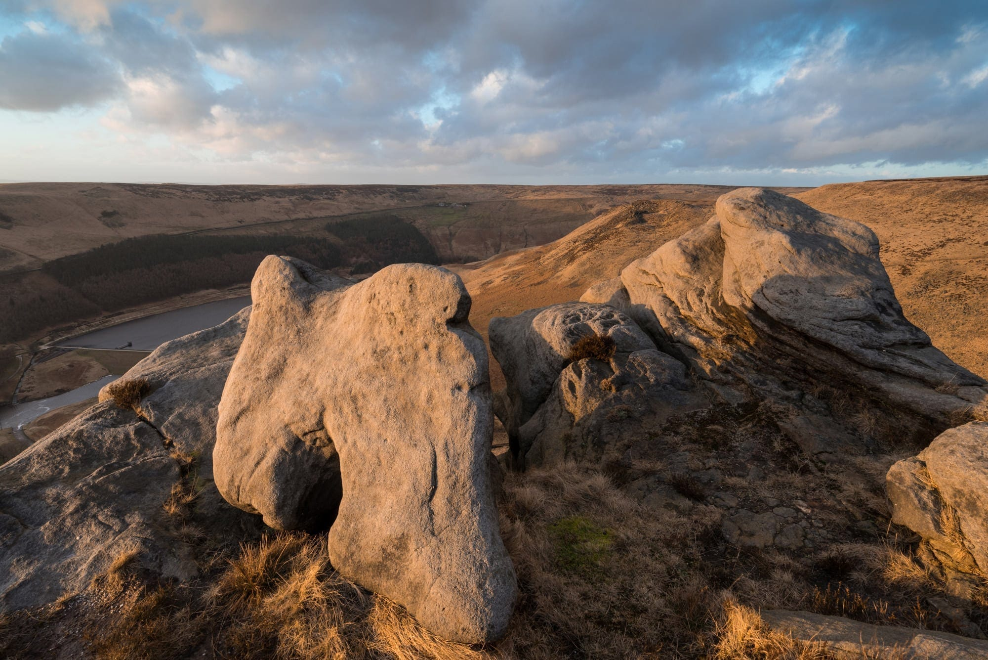 The Tooth Stone on Dean Rocks - Stunning Saddleworth Photography Workshop