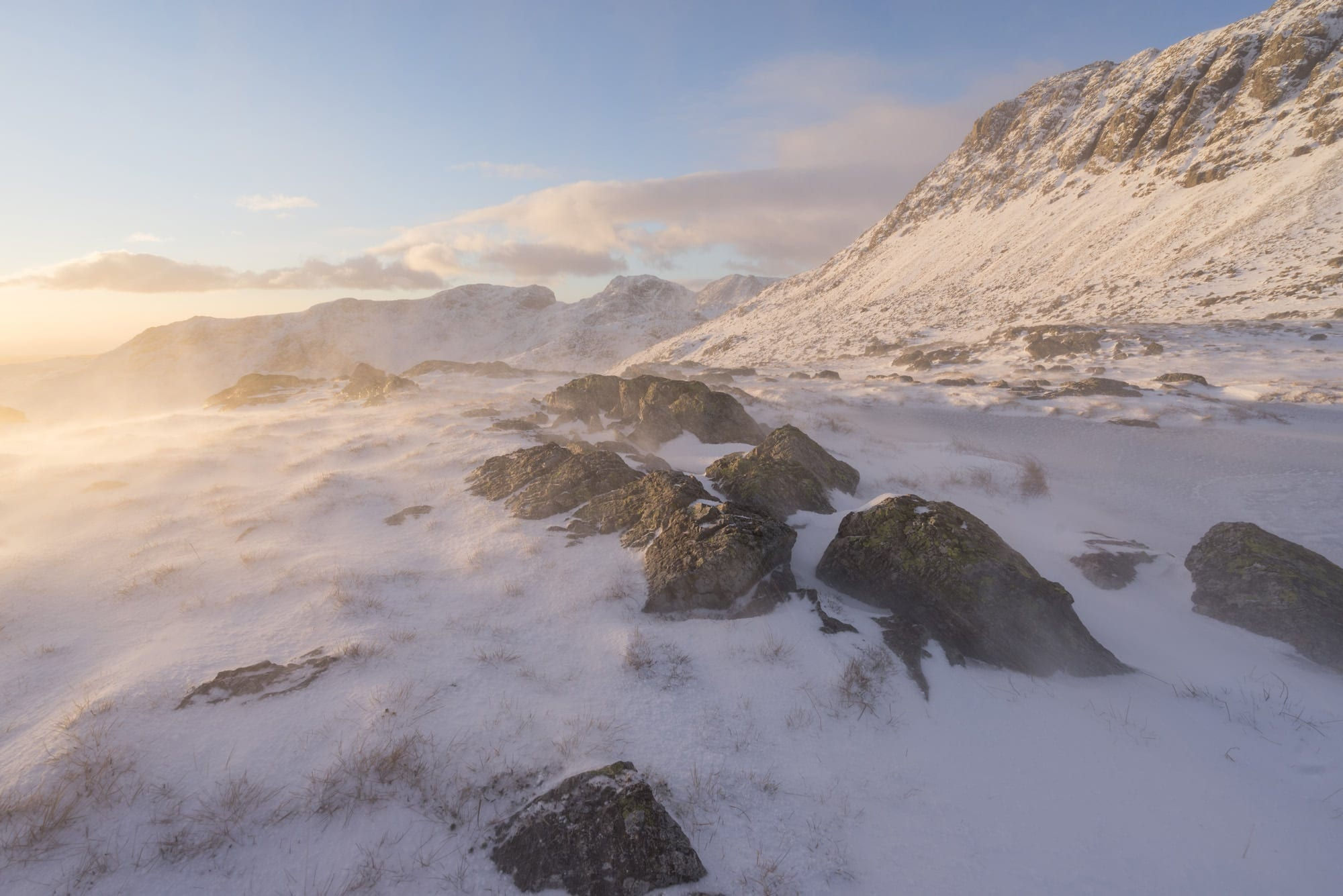 Three Tarns Sunset - Lake District Photography