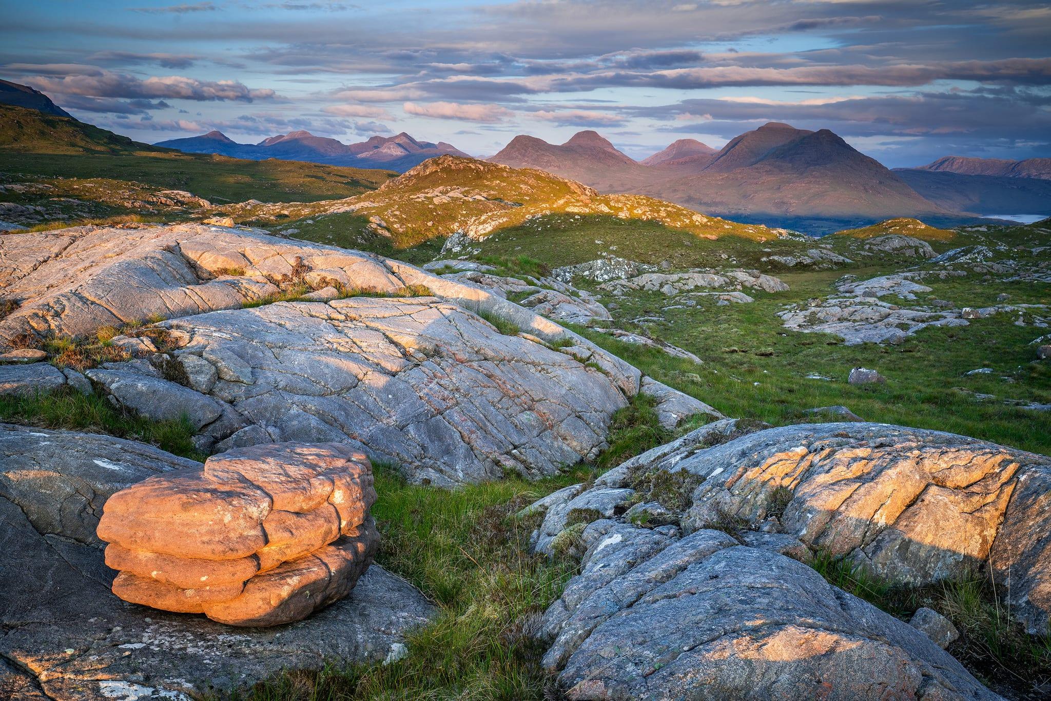 Torridon Sandstone Vista – Scotland Landscape Photography
