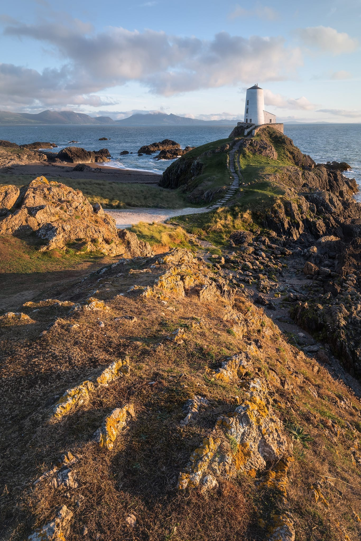 Twr Mawr Lighthouse - Wales Landscape Photography