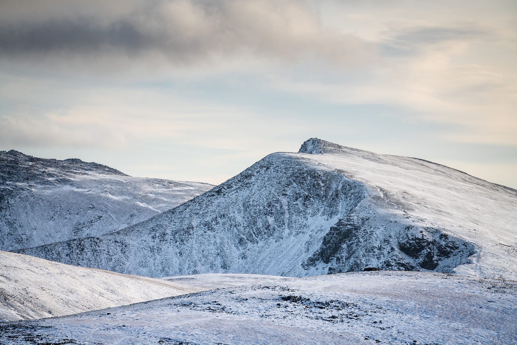 Winter Mountains in Snowdonia - Snowdonia Landscape Photography