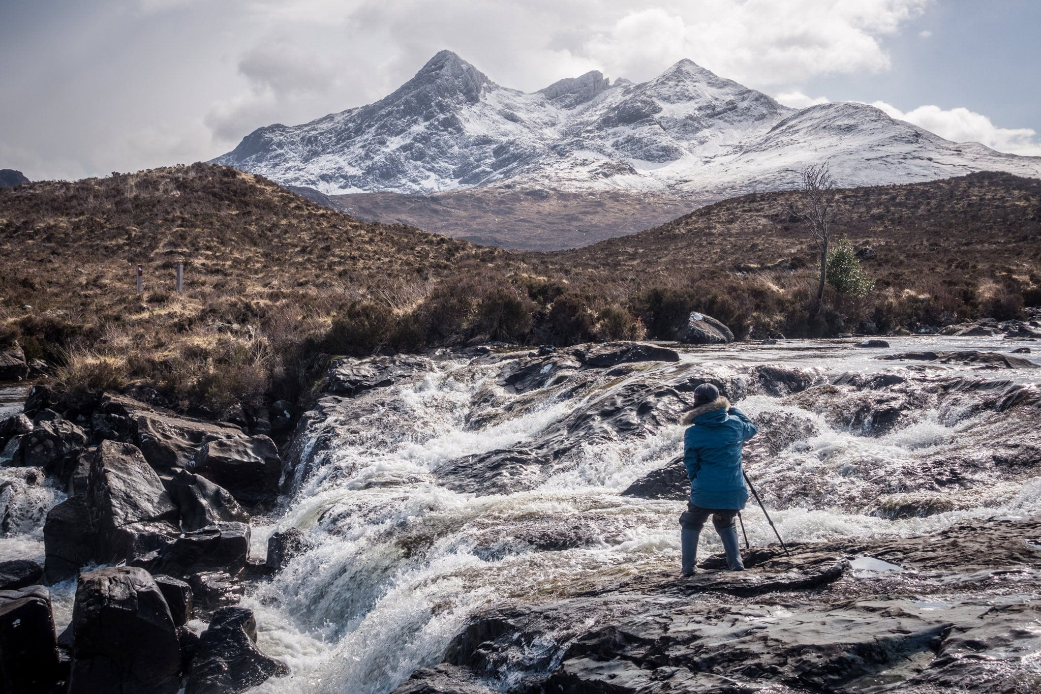 Allt Dearg Mor Waterfall - Isle of Skye Photography Workshop