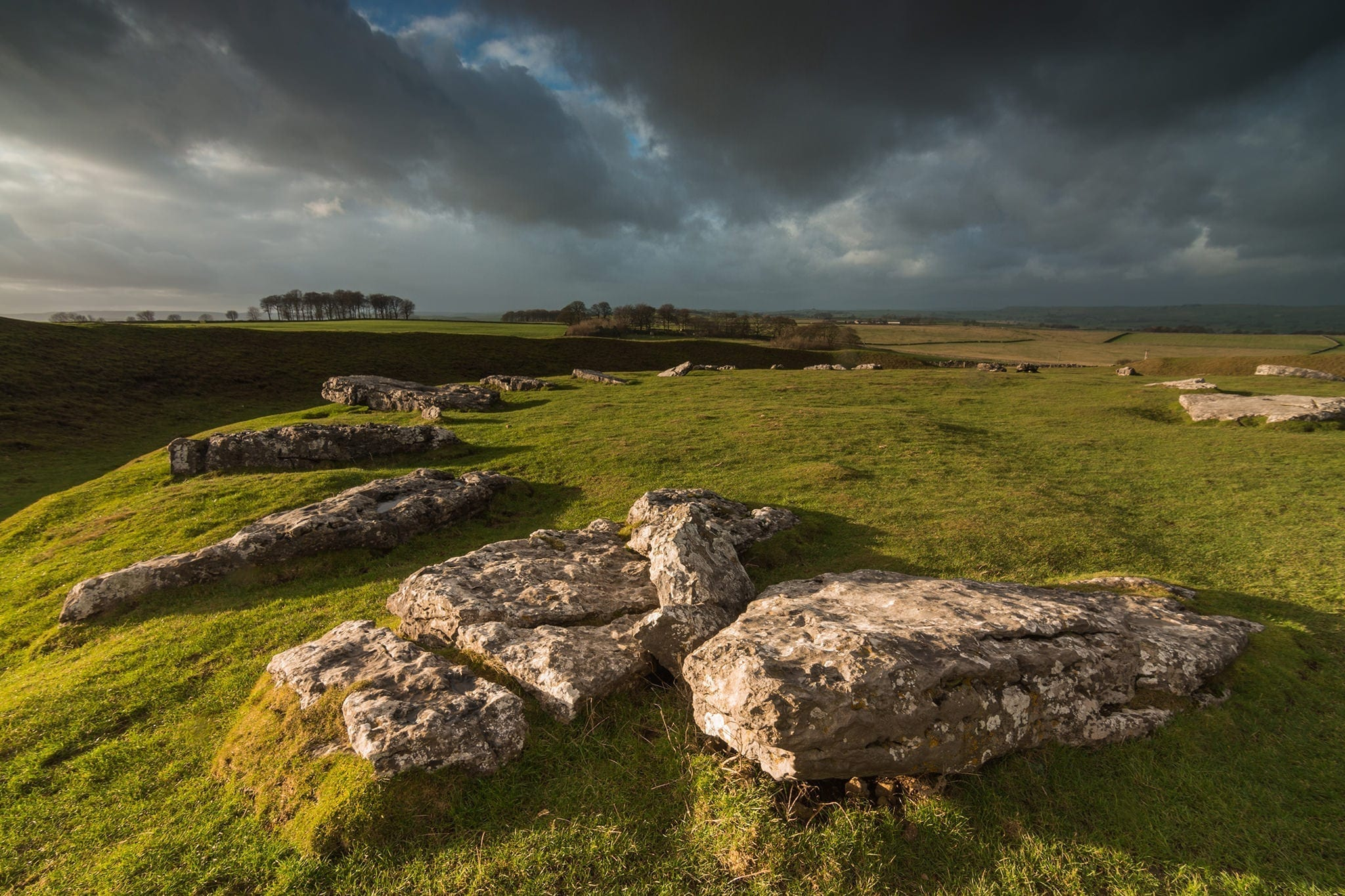 Arbor Low Storms - Winter in the Peak District Photography Workshop