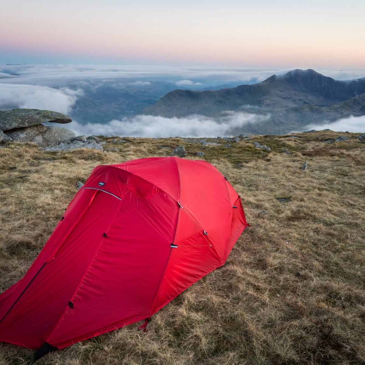 Crux X2 on Glyder Fach - Wild Camping Photography Workshops