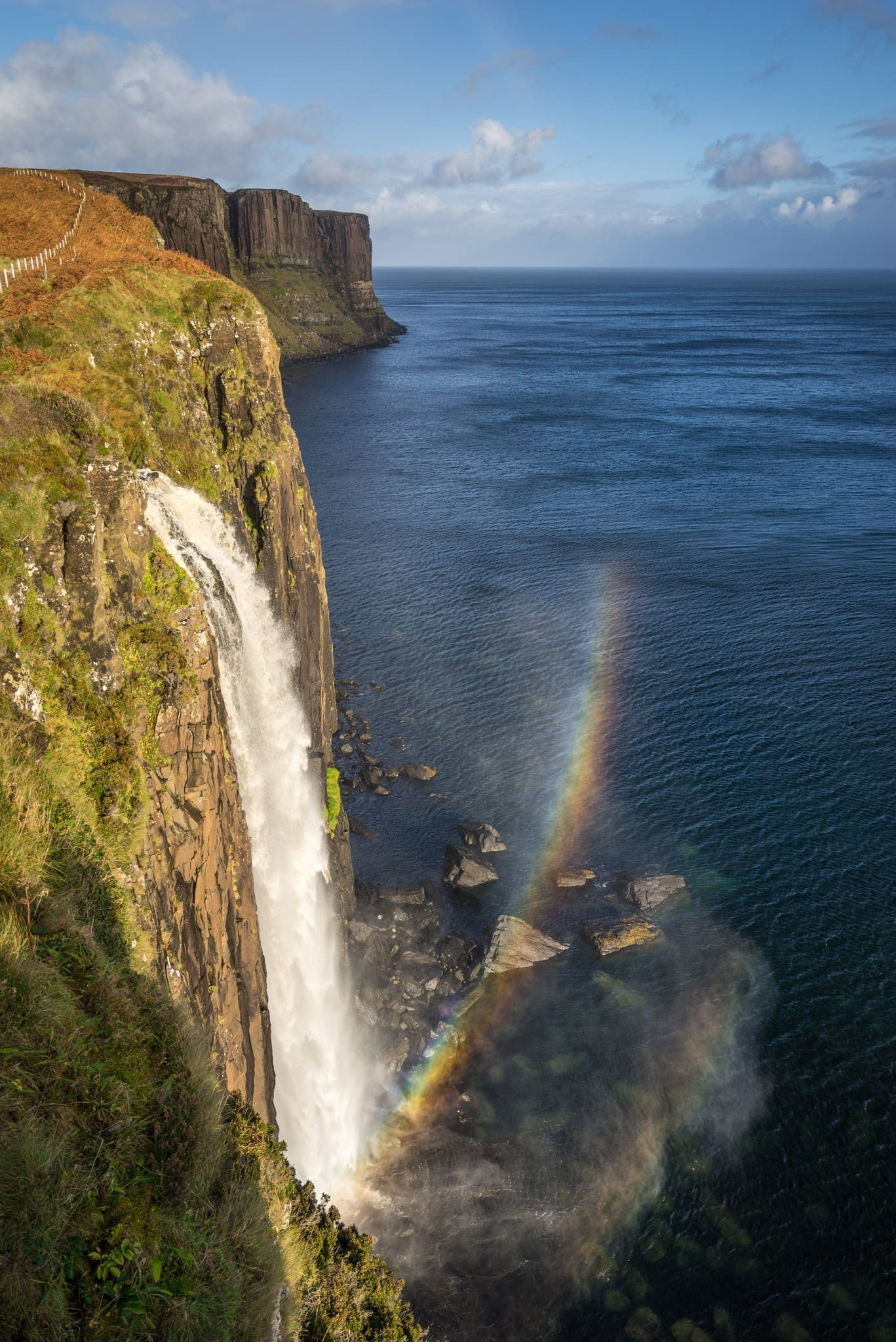 Mealt Falls and Kilt Rock - Isle of Skye Photography Workshop