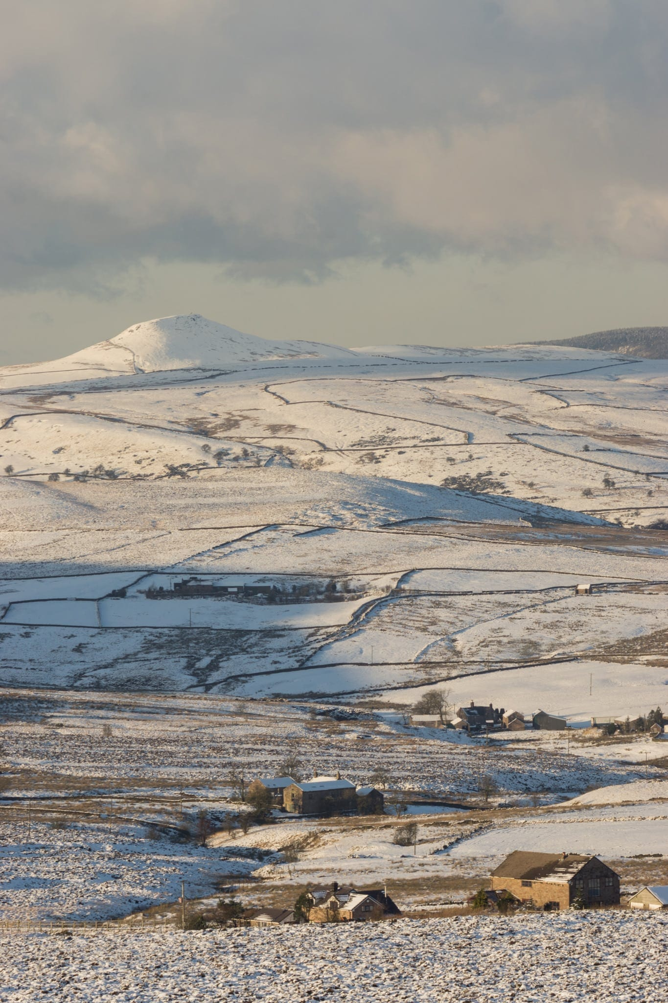 Shutlingsloe Snow Winter - Winter in the Peak District Photography Workshop