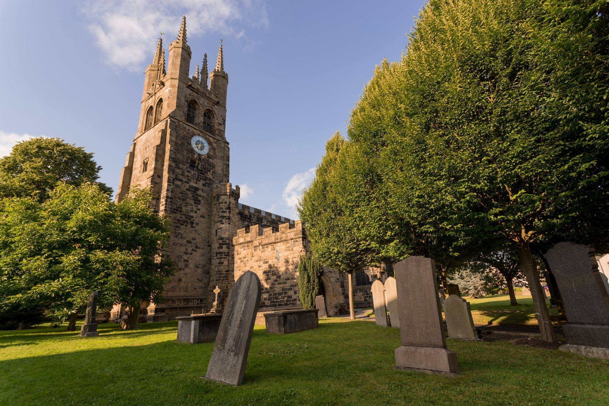 Tideswell Cathedral - Monsal and Tideswell Peak District Photography Workshop