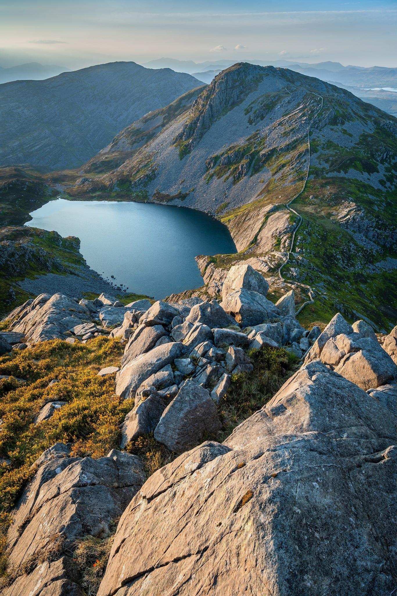 Y Llethr to Rhinog Fach Sunset - Snowdonia Landscape Photography