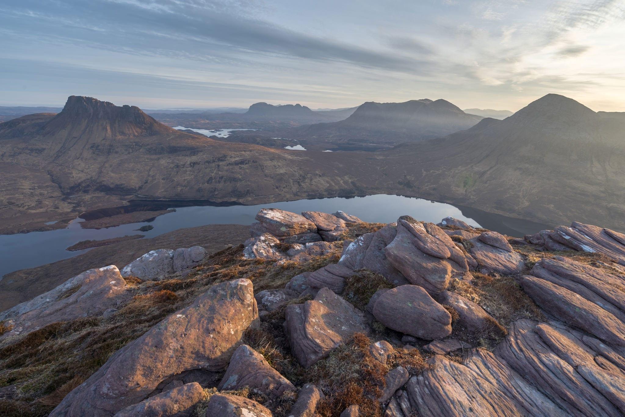 Sgorr Tuath Summit Sunirse - Scotland Photography Wild Camping Workshop