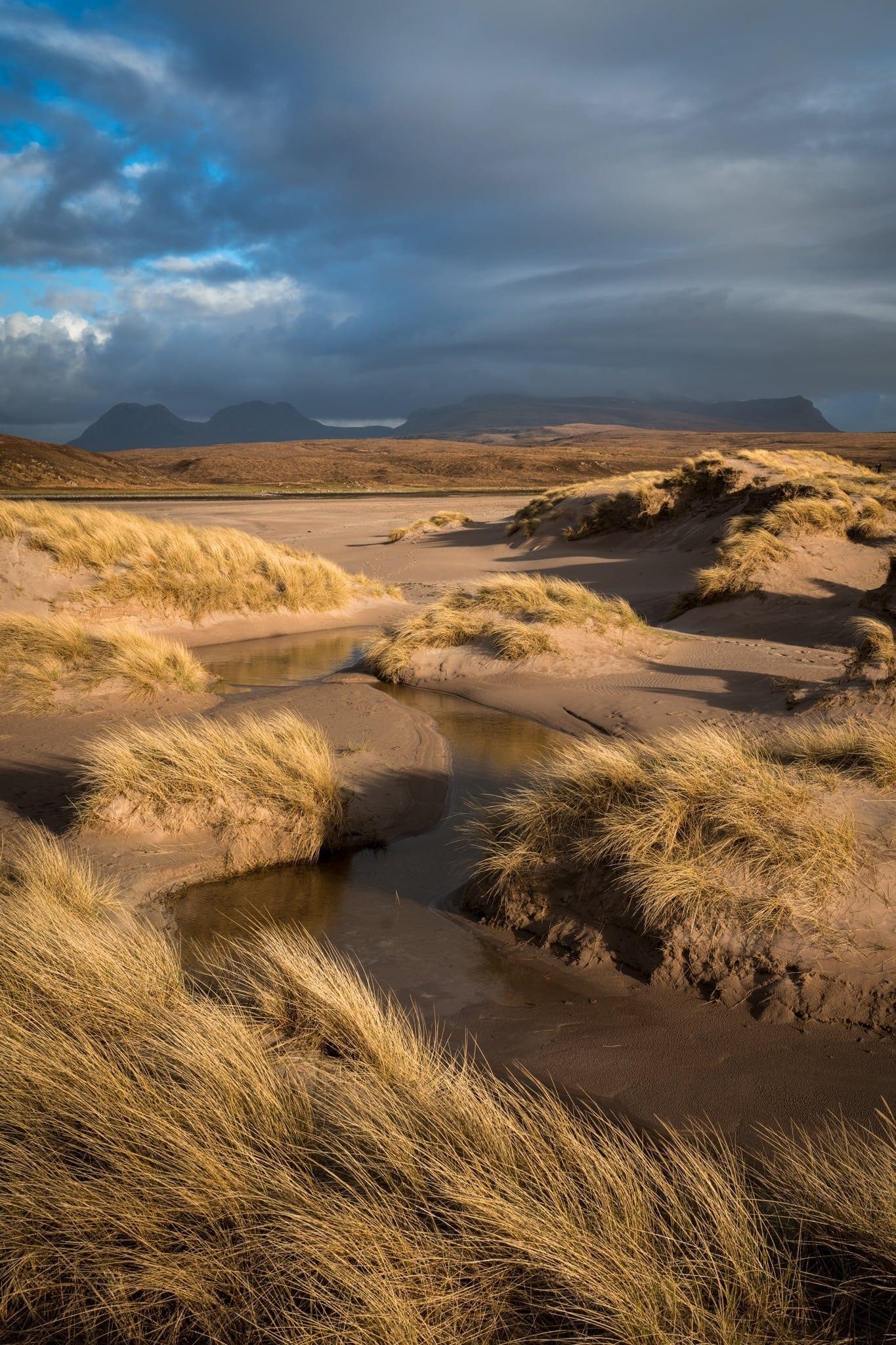Achnahaird Beach Sunset - Scotland Landscape Photography