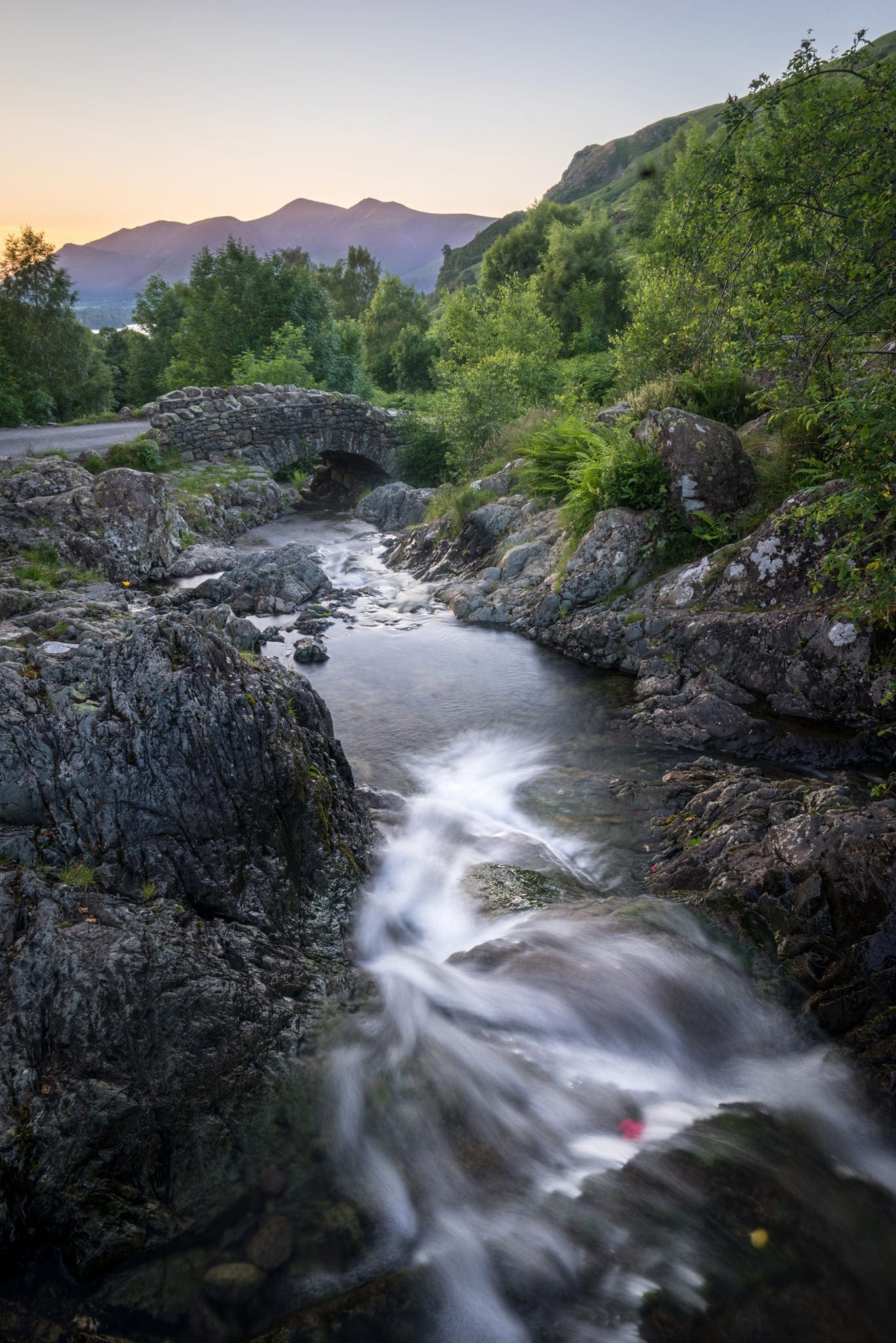 Ashness Bridge Sunset - Lake District Photography Workshop
