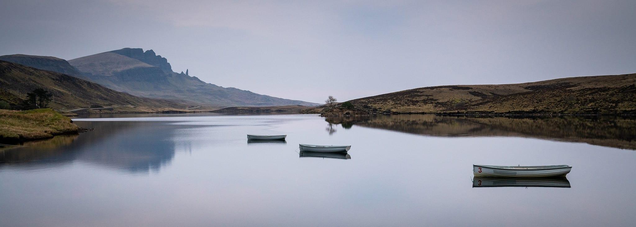 Loch Fada Reflections - Isle of Skye Scotland Landscape Photogra