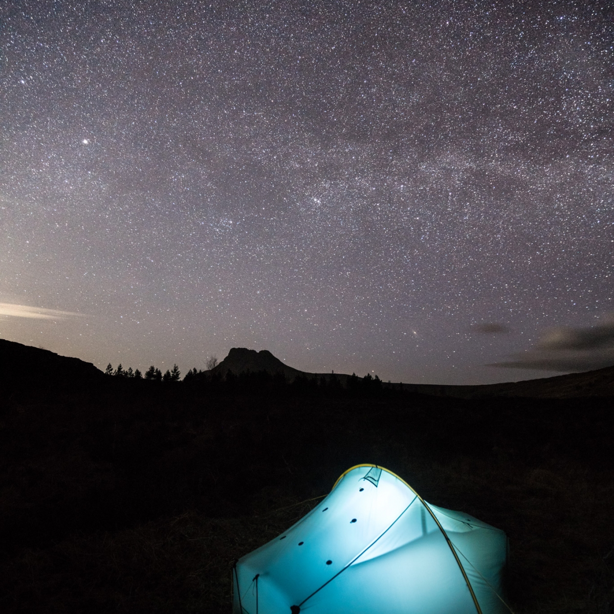 Wild Camping Under The Stars - Wild Camping Photography Workshops
