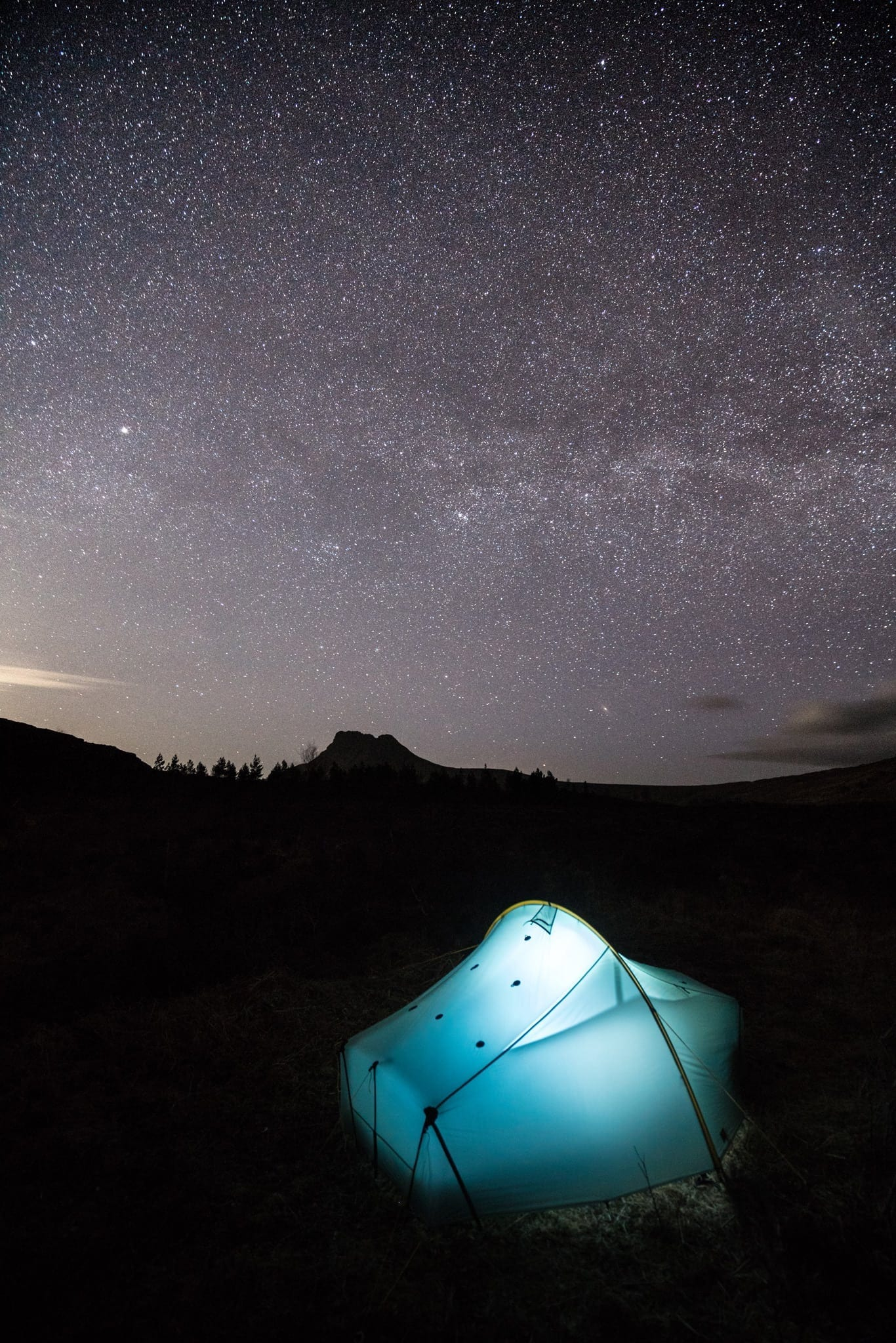 Wild Camping Under The Stars - Assynt Wild Camping Photography Workshop