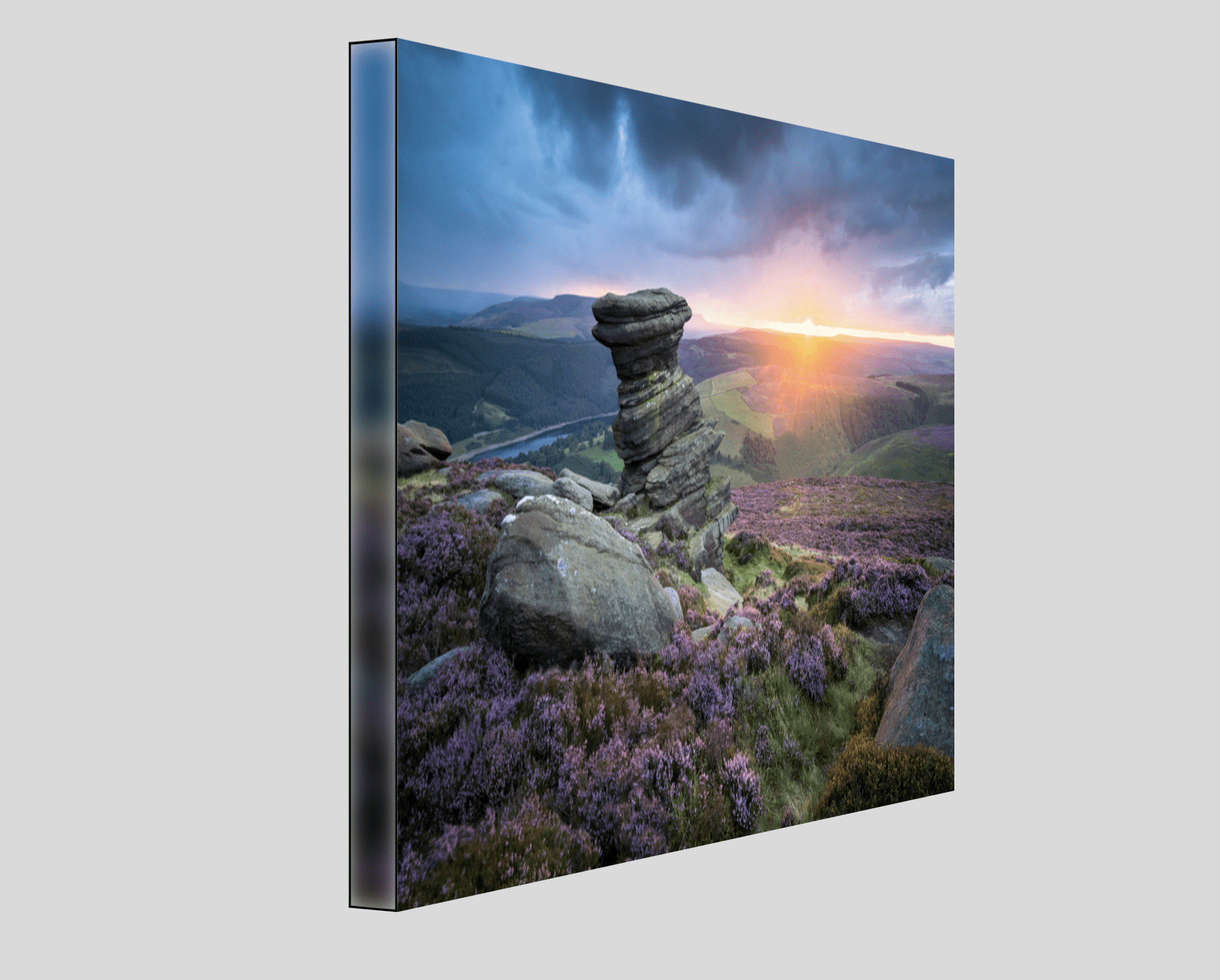 Strretched Canvas Peak District Salt Cellar Photography Print
