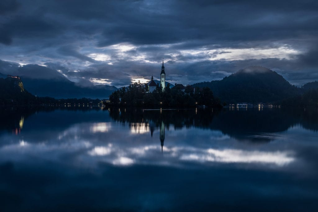 Lake Bled Sunrise - Slovenia Photography